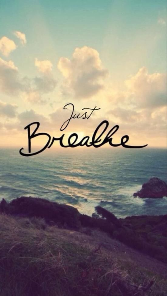 When you feel overwhelmed, take time to just breath.  Release a little of your stressor with each breath of exhalation, until it no longer exists.